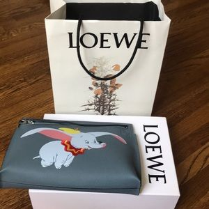 Loewe Dumbo Disney Collection Clutch Bag T Pouch